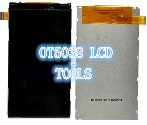 Здесь можно купить  10pcs/lot High quality LCD Screen display For Alcatel One Touch POP D5 OT5038 5038 LCD Screen with tools Free shipping  Телефоны и Телекоммуникации