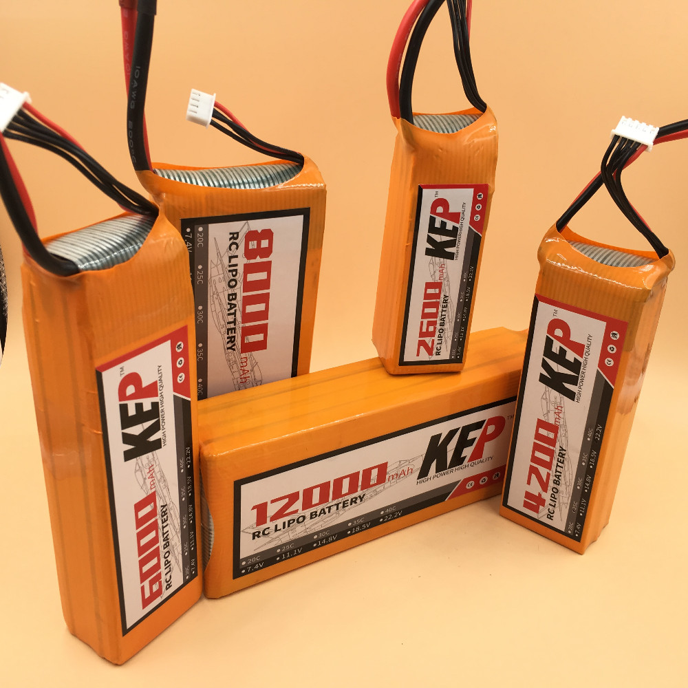 KEP 6S RC Lipo Battery 22.2v 5200mAh 40C For RC Aircraft Helicopter Drones Car Boat Quadcopter Airplane Li-Polymer Batteria 6S