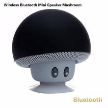 Wireless Bluetooth Mini Speaker Mushroom Waterproof Silicon Suction Handfree Holder Music Player for iPhone 5s 6 6 plus