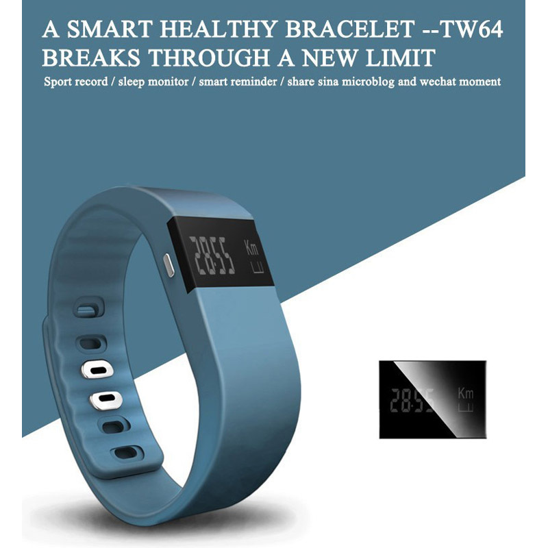Fitness Activity Tracker Bluetooth 4.0 Smartband Sport Bracelet Smart Band Wristband For IOS Samsung Android PK Fitbit TW64(China (Mainland))
