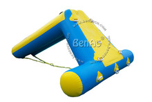 W084 3.5*2m inflatable water slide,inflatable climbing water slide,Inflatable floating water slide on sea(China (Mainland))