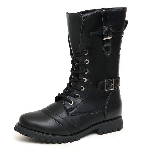 quality winter men boots military army boots high top casual ankle boots winter warm shoes man martin boots lace up N024(China (Mainland))