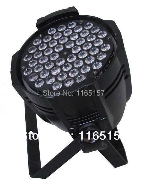 IP65 DMX512 54*3W LED Par Lighting /Professional manufacture IP68 par 56 led swimming pool lights with remote control(China (Mainland))