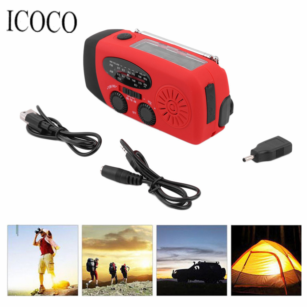 3 in 1 Emergency Charger Hand Crank Generator Wind/Solar/Dynamo Powered FM/AM Radio,Phones Chargers LED Flashlight Hot Sale(China (Mainland))