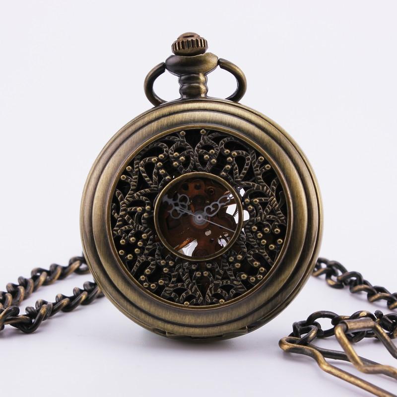 Orkina мужская старинные карманные часы роман число черный циферблат Timbo - по образцу чехол руки ветер механические портативный удобный 23