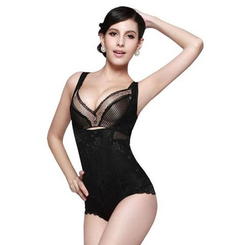 Woman Body Corset Bodysuit Women Shapewear Plus Size S~XXL Body Shaper Waist Trainer Cincher Corsets Butt Lifter(China (Mainland))