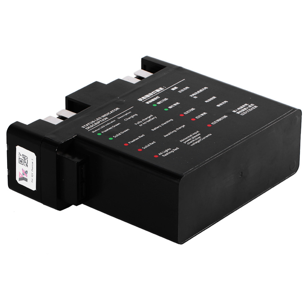4-in-1 Intelligent Multi Battery Charger Hub Manager For DJI Phantom 3 RC Part High Quality Hot