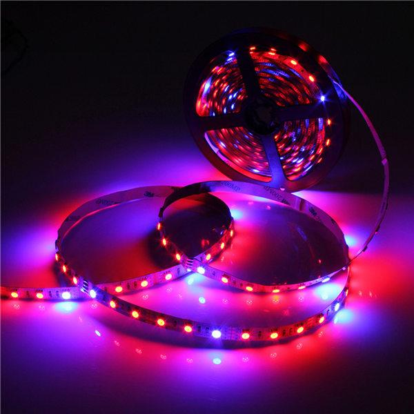 5050 Grow LED Flexible Strip Tape Light 4:1 4 Red 1 Blue Aquarium Greenhouse Hydroponic Plant Growing Lamp 60led/m 1M 2M 4M 5M<br><br>Aliexpress