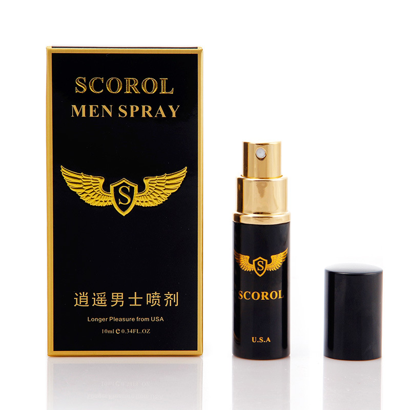 10ml Longer Pleasure Antibacterial Potency Male Pump Lasting Delay Spray Delaying Adult Product For Men Spirits For Sex(China (Mainland))