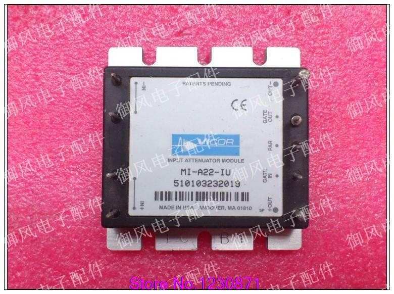 Imported VICOR DC filter module MI-A22-IU 18.8-50V DC input filter module(China (Mainland))