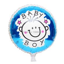 18 pulgadas bebé papel de aluminio globos de la fiesta de cumpleaños del decorativo del partido globos proveedor