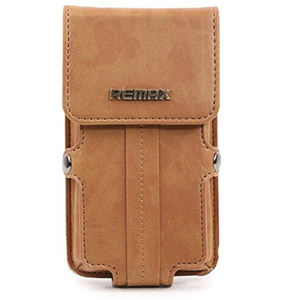 5.5 inch Universal Phone Bag Case Remax Pedestrian Series Verticality Multi Phone Model Wallet Pouch Belt Clip Case Holster(China (Mainland))