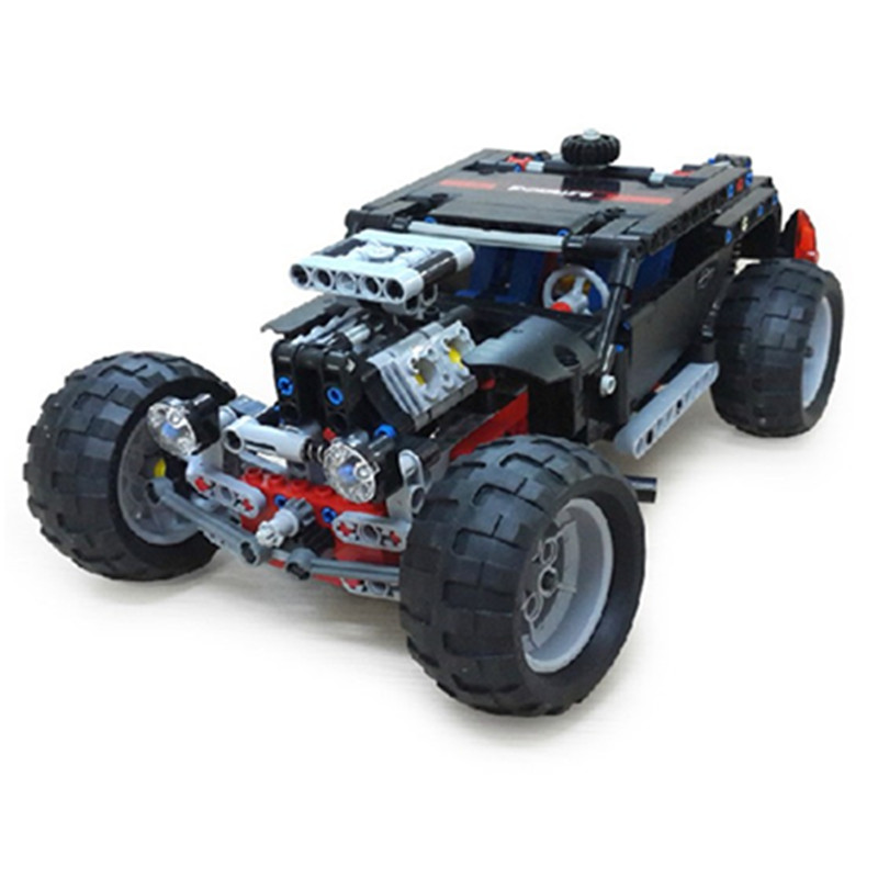 Model 3340 Hummer Building Blocks Technic Transport SUV Racing Car Truck Model Toys Brick Toys For Children Hummer Toys Brick(China (Mainland))