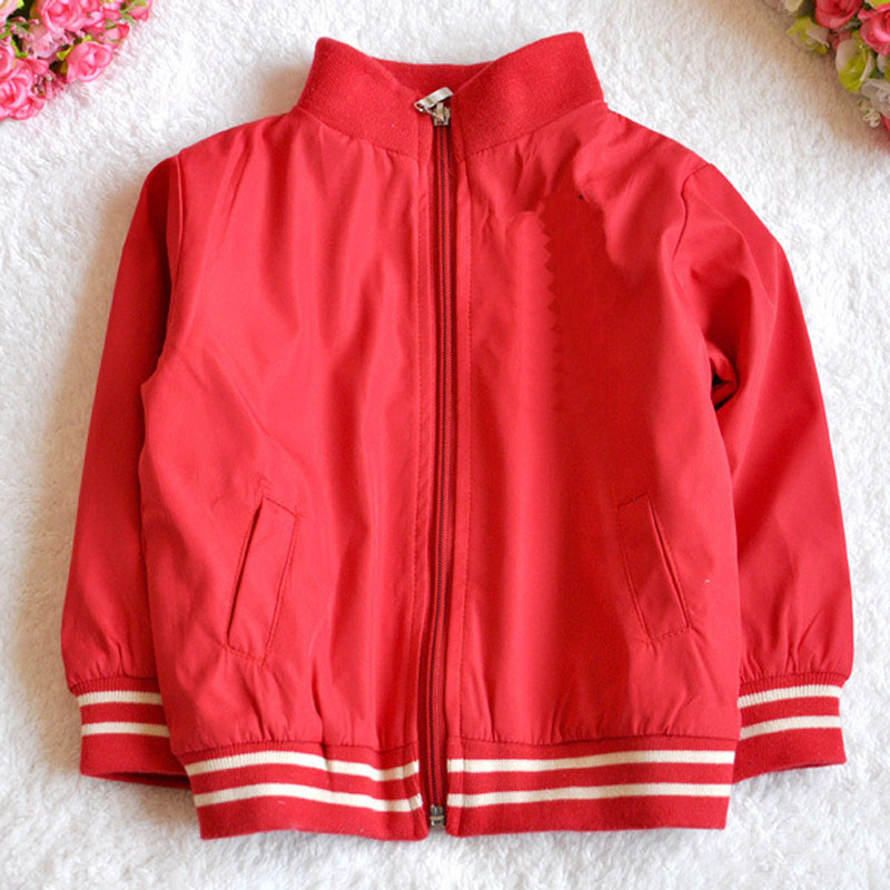 Discount Designer Baby Clothes Online baby boys coat red spring