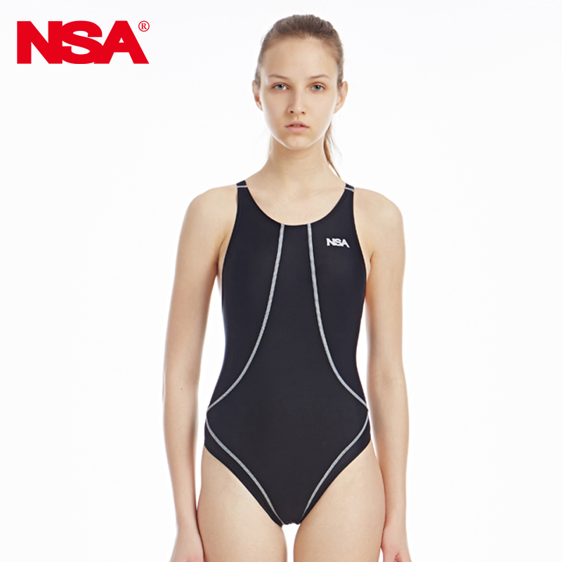 NSA competition triangle swimsuit womens training racing swimwear one piece waterproof swimsuit 0508<br><br>Aliexpress