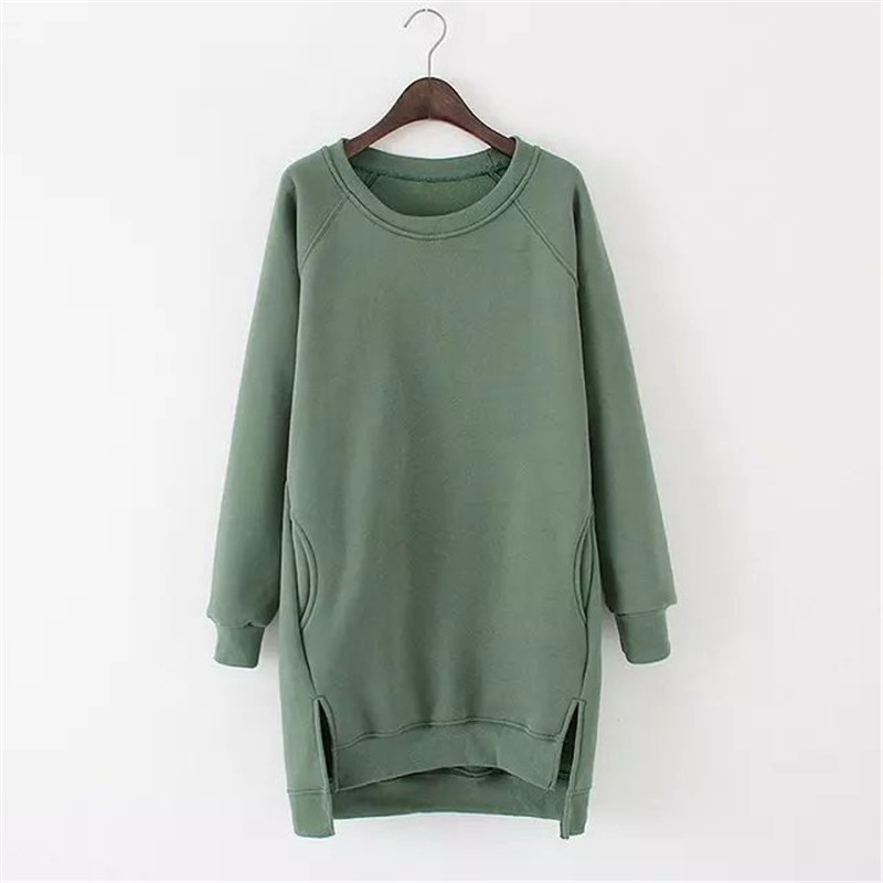 New Arrival Womens Sweatshirt 2016 Women Long Sleeve Spring Shirt Dress Casual O-Neck Sweatshirts Ladies Fashion Pullovers Одежда и ак�е��уары<br><br><br>Aliexpress