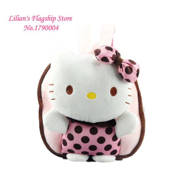 Новое поступление эксклюзивный дебют 3D привет котенок милый мультфильм рюкзак школьный портфель детский день подарков Mochila Infantil горячая распродажа
