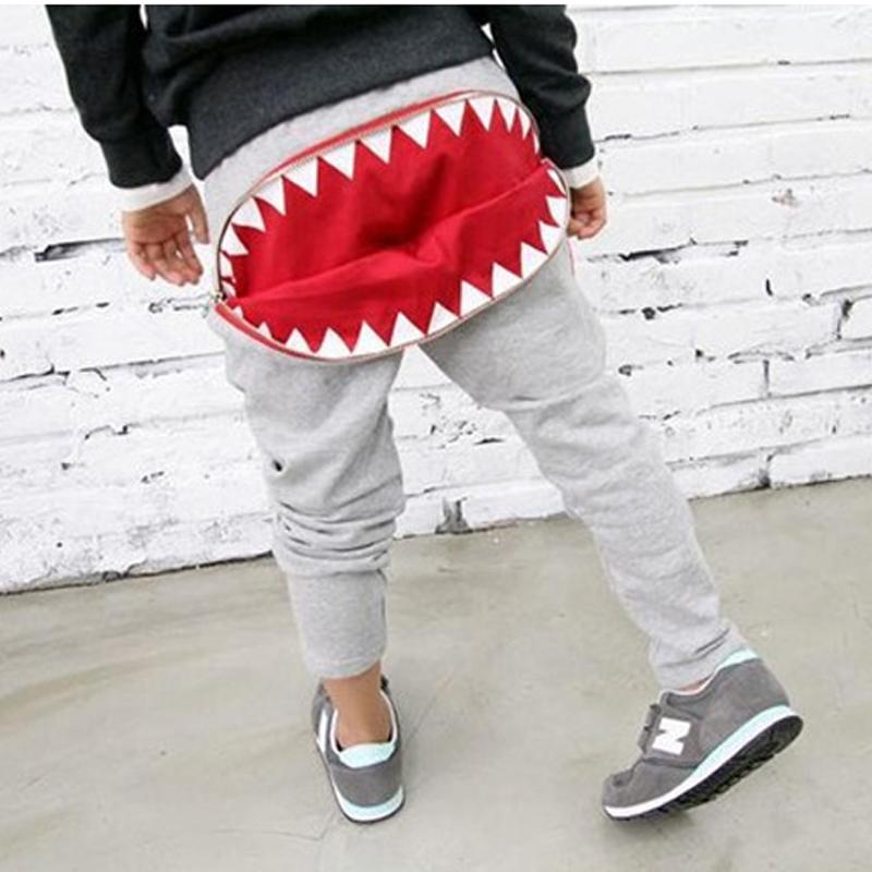 Big mouth Trousers Sports Loose Boy Pants Baby Harem Pants Boys Trousers Kids Casual Pants Long Trousers Ruffle Pants(China (Mainland))