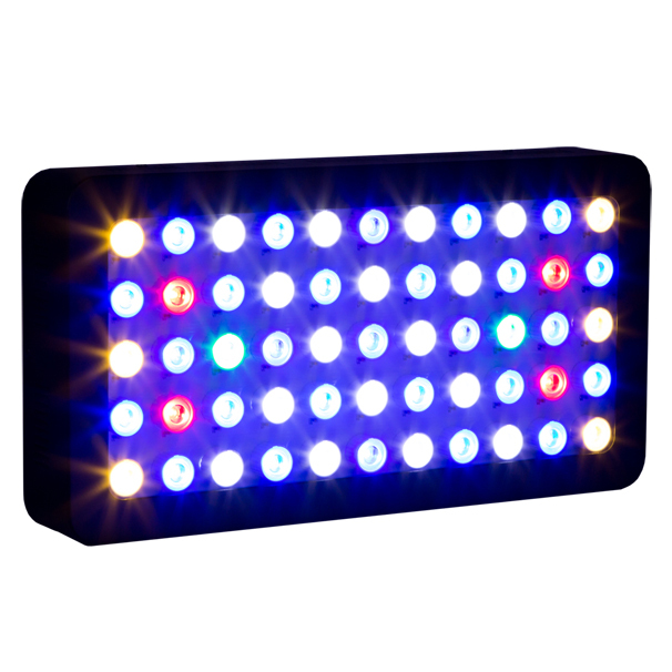 Stock in USA/Germany/Canada/Austrialia 165w Marine Aquarium led lighting Dimmable full spectrum Led aquarium light forcoral reef(China (Mainland))
