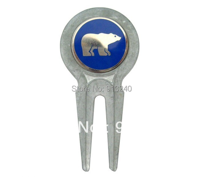 top quality metal golf divot tool and ball marker(China (Mainland))