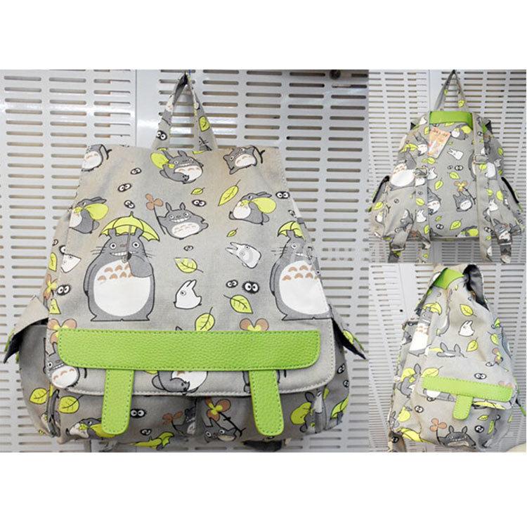 Free Shipping Anime Manga My Neighbor TOTORO Backpack Shoulder Bag Children Backpack 40*30*10cm 008(China (Mainland))