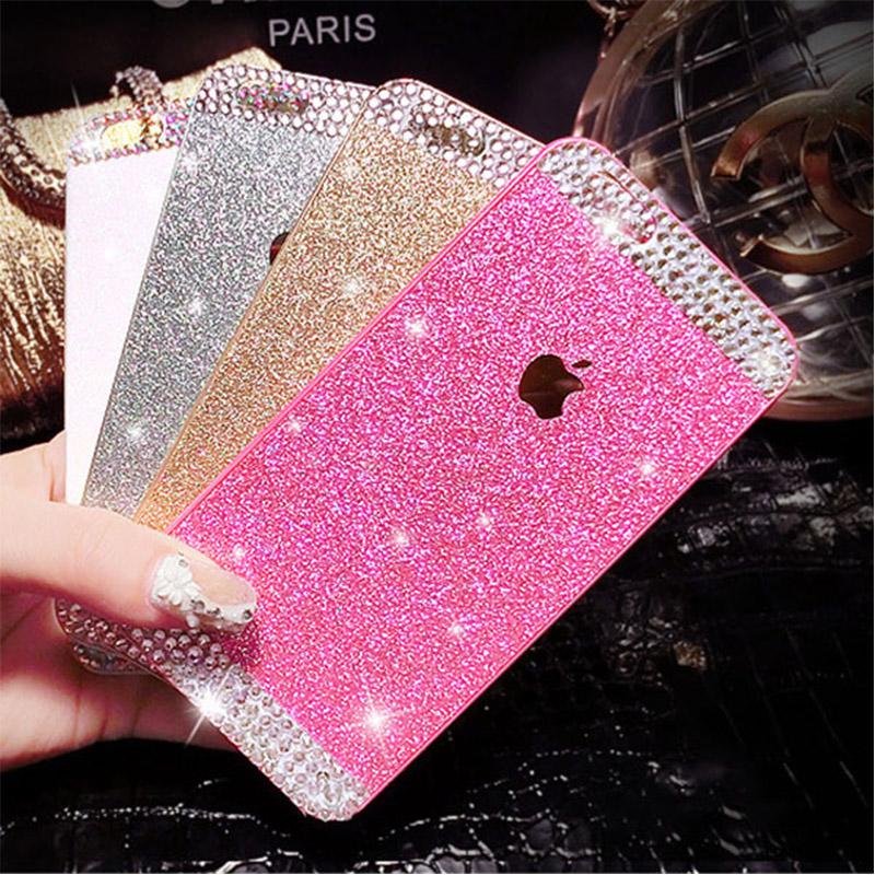 Гаджет  Luxury Hot-Sale Glitter PC Hard Plastic Crystal Bling Diamond Back Cover Case for Apple iPhone 4 4S 5 5S 6 6 plus Capa Para None Телефоны и Телекоммуникации