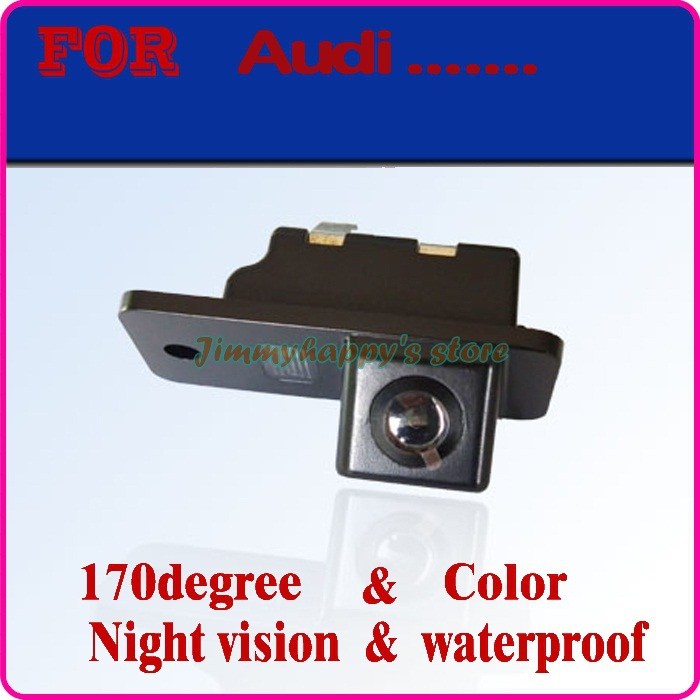 car rear view camera for SONY CCD Night color Car Reverse Backup camera for AUDI A3 S3 A4 S4 A6L A6 S6 A8 S8 RS4 RS6 Q7(China (Mainland))