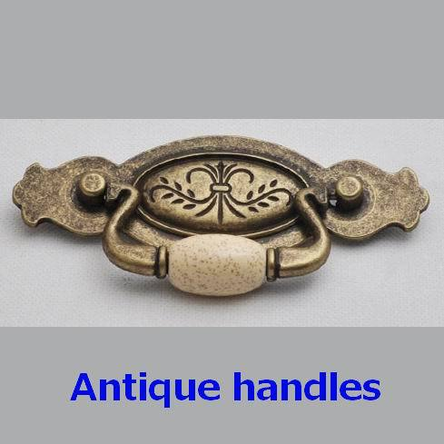 Antique  Ceramics  furniture handle   copper color holes 96mm<br><br>Aliexpress