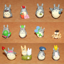 Free Shipping 3 12pcs/1set New Hot Sell Anime Movie My Neighbor TOTORO Figures For Totoro Fans action figure New Year gift