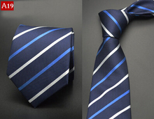 Formal business wedding Classic men tie stripe plaid grid  8cm Fashion Accessories men necktie A16(China (Mainland))