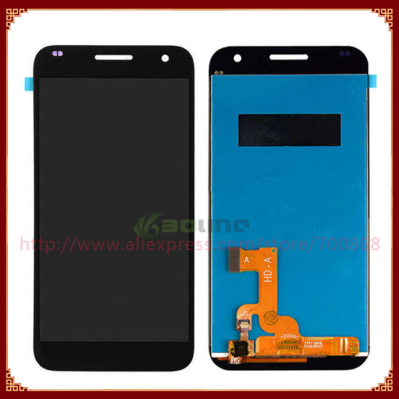 100% Original Full LCD Display + Touch Screen Digitizer Assembly For Huawei Ascend G7 Free Shipping
