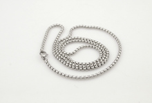 USD 0 99 women Silver Stainless Steel Chain Men Necklace Jewelry Accessories link chain body chain