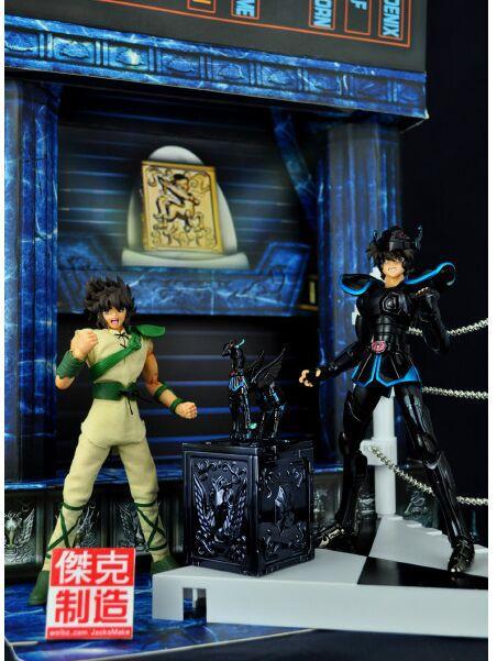 JacksDo japan anime black Saint Seiya knights of the zodiac pegasus figure doll marvel action figures toy(China (Mainland))