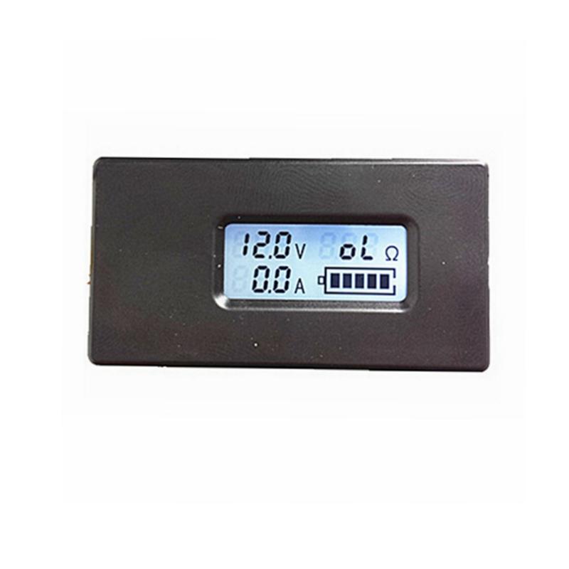 Digital Battery Charger tester monitor DC 2.8-30V Volt voltmeter 0.-10A amp ammeter show Resistence<br><br>Aliexpress