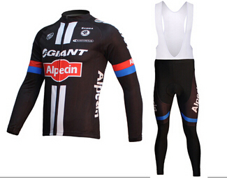 2015 maillot de cycling long sleeve giant team cycling jersey bib pants bike clothing sets giant mtb ciclismo cycling bib suit(China (Mainland))