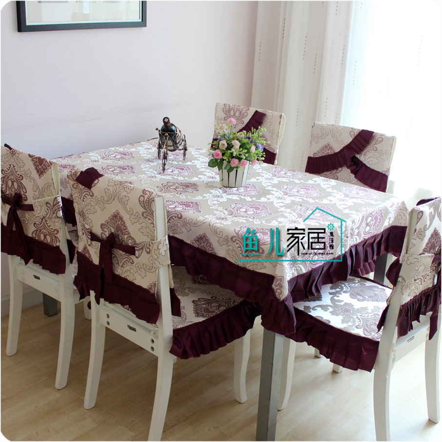 Table Cloth Dining Table Cloth Chair Cover Cushion Dining Chair Set