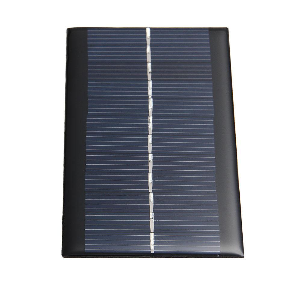 High Quality 6V 1W Solar Power Panel Solar System Module DIY For Light Battery Cell Phone Toys Chargers Drop Shipping(China (Mainland))