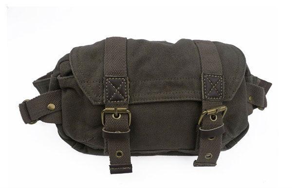 FREE SHIPPING! unisex canvas waist packs fashion waist pouch waist bag belt bag Sport Pouch leisure bag 010-2 army green