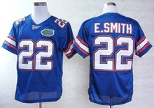 Florida Gators #22 Emmitt Smith,2016 New Style Cheapest Sportest Jersey,Free Shiping,College Football Jerseys,Can Mix Order(China (Mainland))