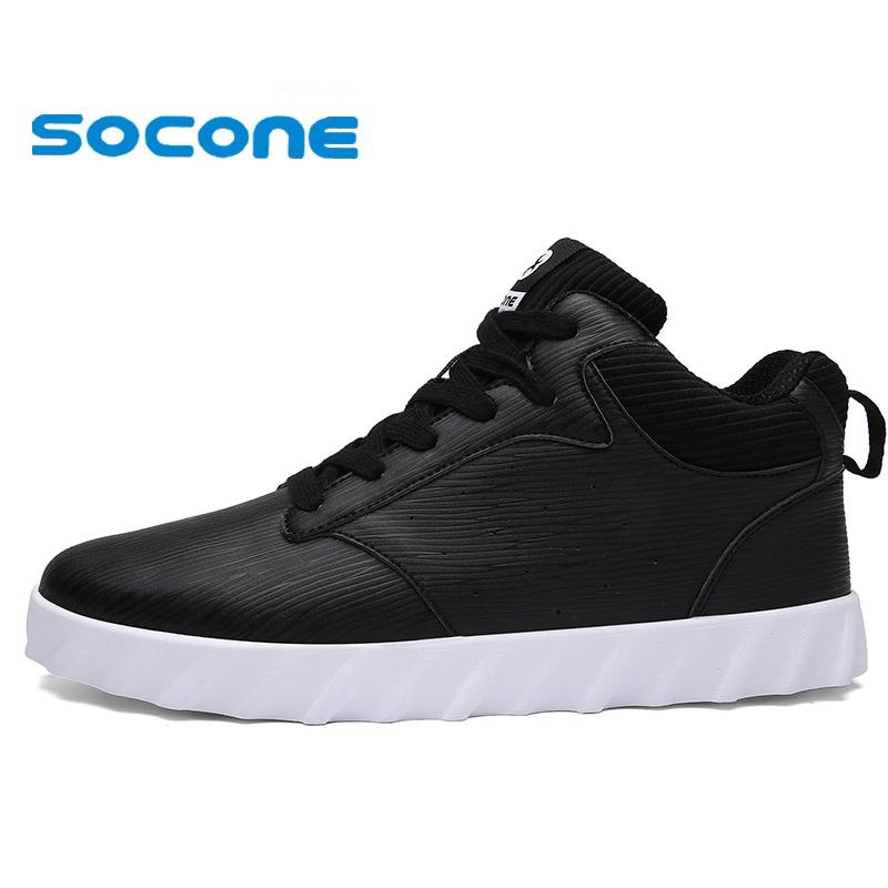 aliexpress buy 2016 socone leather warm running