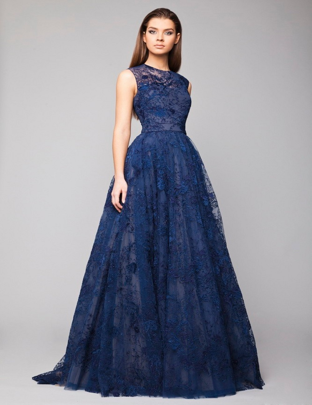 Popular Navy Blue Special Occasion Dress-Buy Cheap Navy Blue ...