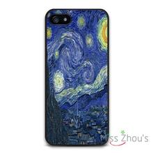 Vinatge Van Gogh Starry Night Protector back skins mobile cellphone cases for iphone 4/4s 5/5s 5c SE 6/6s plus ipod touch 4/5/6