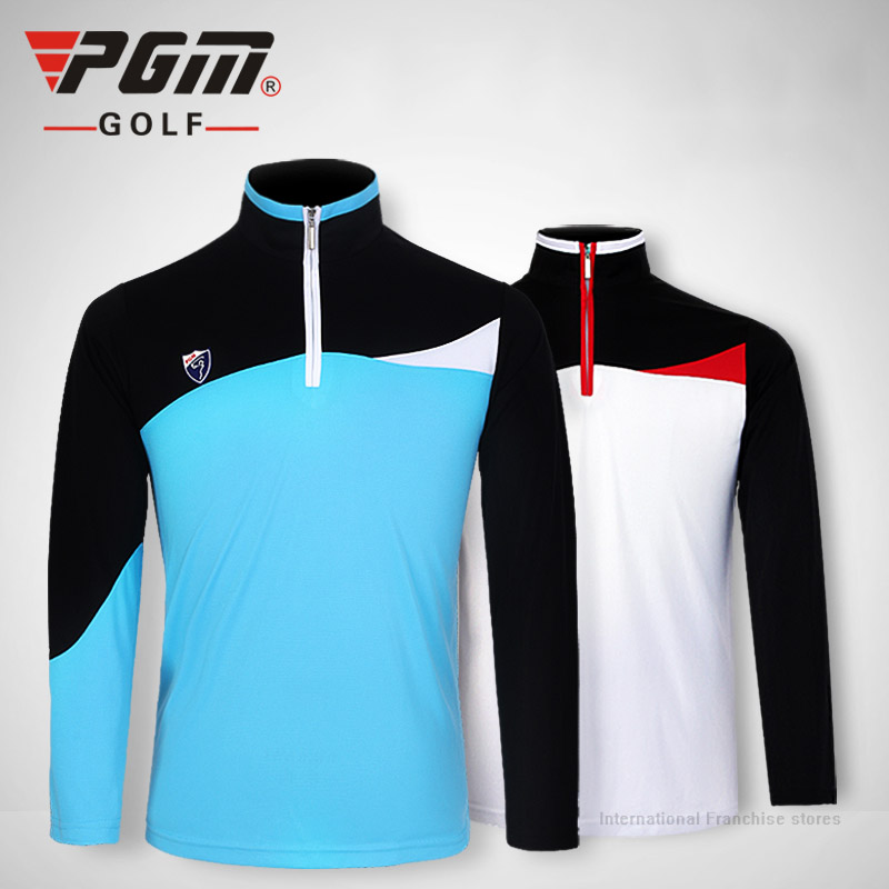 pgm new golf mens polo shirts 2016 high quality long sleeve sports golf t shirt remeras de golf. Black Bedroom Furniture Sets. Home Design Ideas