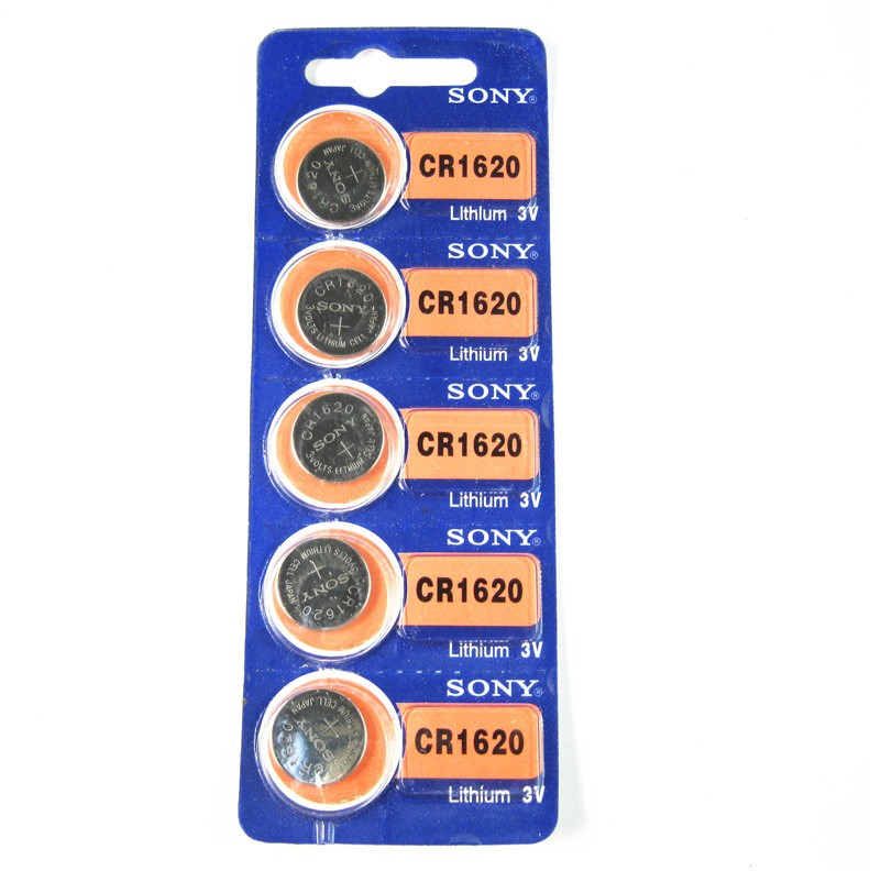 20PCS/LOT New Original For Sony CR1620 1620 3V Button Cell Battery Batteries For Car Keys Watch Computer Free Shipping<br><br>Aliexpress
