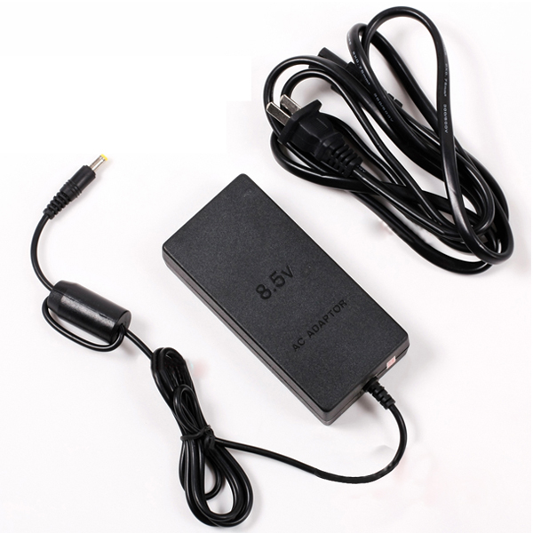 Free Shipping 1x US Plug Popular AC Adapter Charger Cord Cable Supply Power For PS2 Console Slim Black T4h6(China (Mainland))