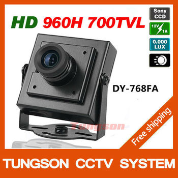 High Resolution HD Sony 960H CCD Effio 700TVL Security Small Mini CCTV Camera Micro Video Surveillance Cam Free Shipping