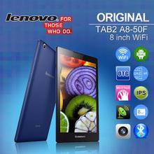 Original Lenovo Tablet PC TAB2 A8-50F WiFi 8″ 1280×800 16:10 IPS MTK8161 Quad Core Android 5.0 1GB+16GB 2MP+5MP GPS