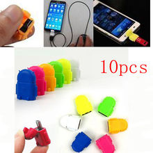 10pcs Micro USB To USB Converter OTG Adapter For Samsung For HTC Android smartphone Tablet pc connect to flash mouse keyboard