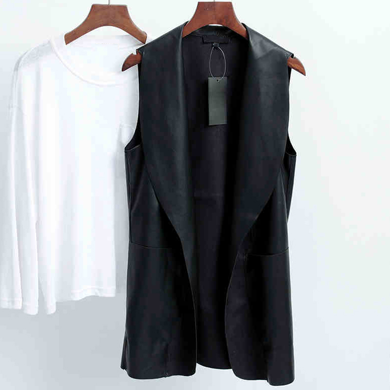 Online Get Cheap Sleeveless Leather Jacket Women -Aliexpress.com
