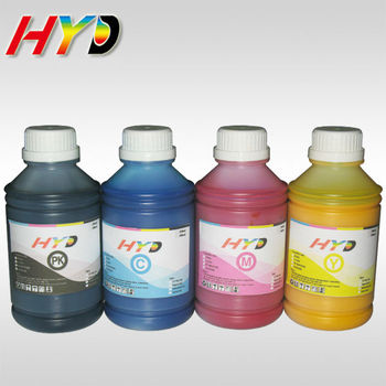 500ml/bottle 4 color set  plotter dye sublimation ink for Epson stylus pro 7400 7450 9400 9450 heat transfer image